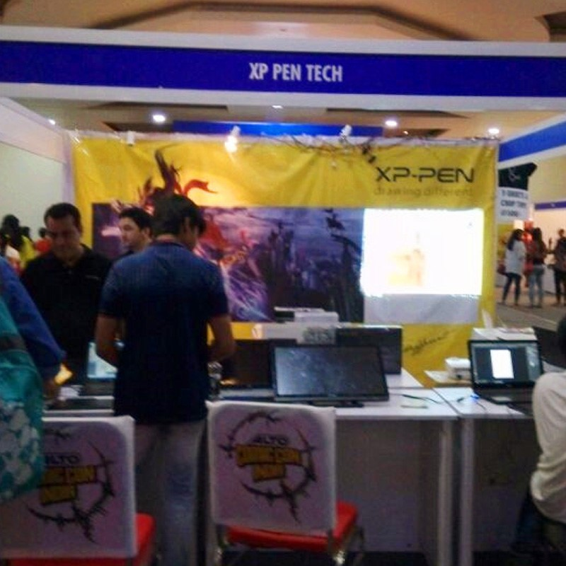 XP-Pen au Comic Con Pune